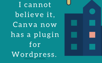 Canva makes it easy to design blog posts in WordPress